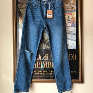 REFORMATION CIGARETTE JEANS